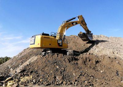 Maquinaria IMEE para excavaciones