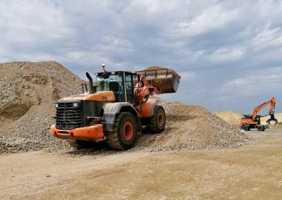 Maquinaria IMEE para movimiento de tierras