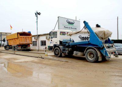 Maquinaria IMEE para transporte de residuos