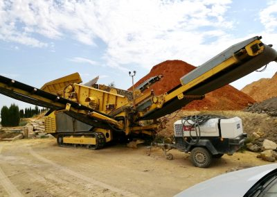 Maquinaria IMEE para tratamiento de residuos